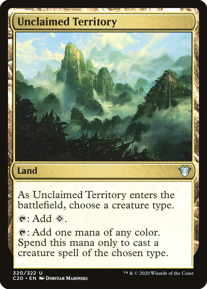 Unclaimed Territory