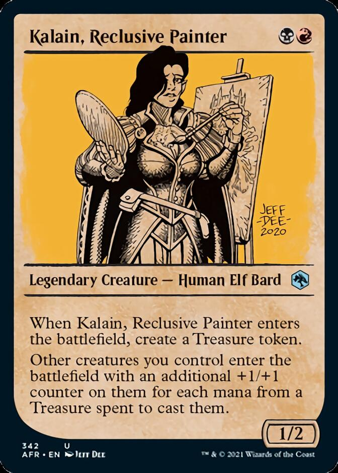 Kalain, Reclusive Painter (Showcase)