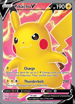Pikachu V (170/185)
