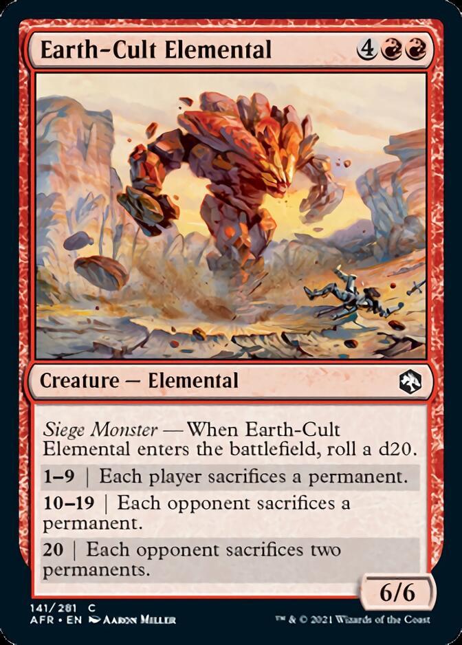 Earth-Cult Elemental