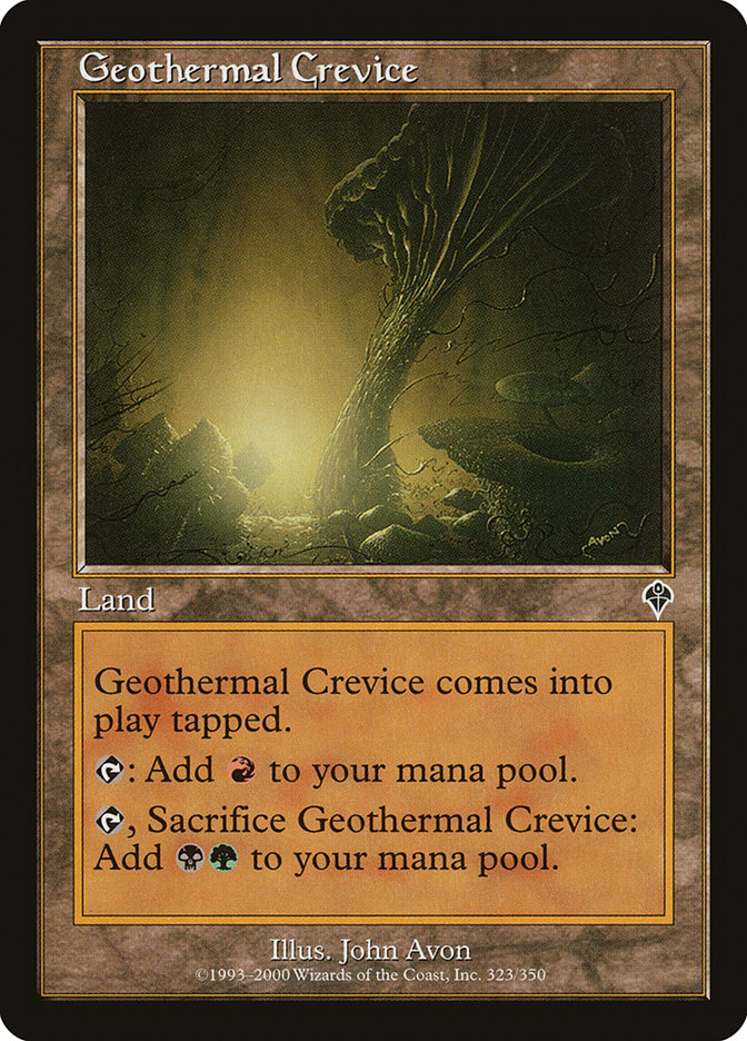 Geothermal Crevice