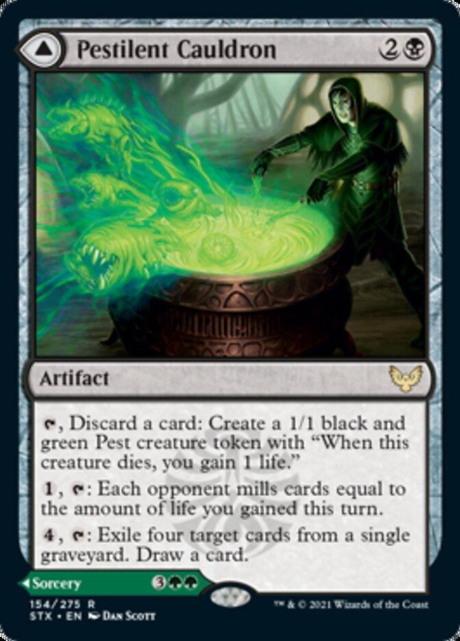Pestilent Cauldron // Restorative Burst
