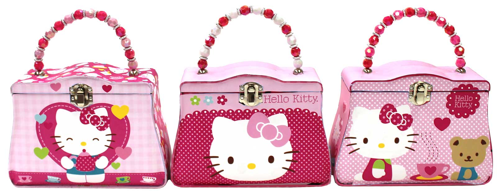 Hello Kitty Tin Box Carry All