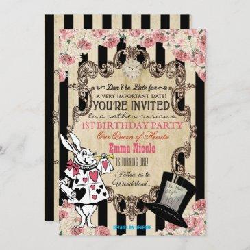 vintage birthday invitations