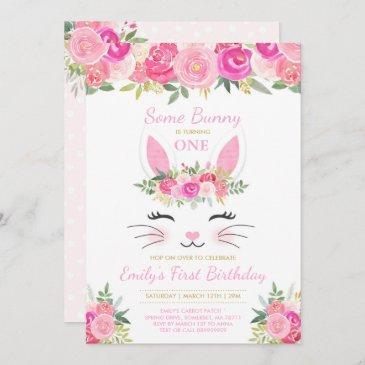 spring birthday invitations