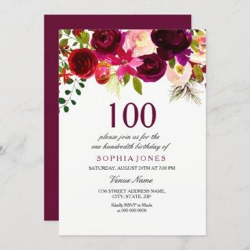 https birthdayinvitations4u com invites 100th birthday invitations
