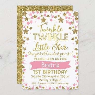 twinkle twinkle little star birthday