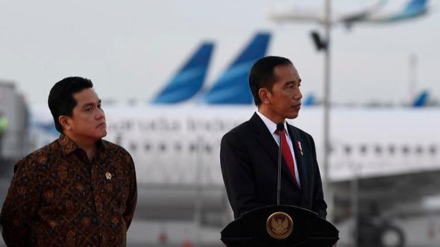100 Hari Kabinet Indonesia Maju : Erick Thohir Menteri Terfavorit - Kabar24  Bisnis.com