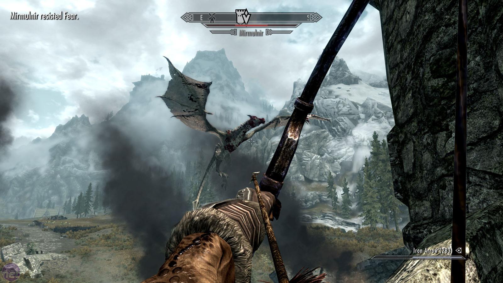 "Image result for skyrim bow dragon"""