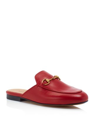 4b053f16a02 Gucci Women s Princetown Leather Mules Bloomingdale s