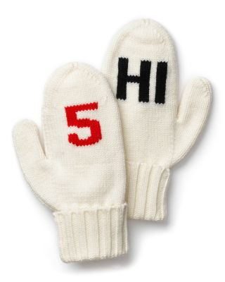 "kate spade new york ""Big Apple"" Hi 5 Mittens"