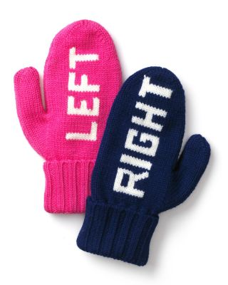 kate spade new york Big Apple Right Left Mittens