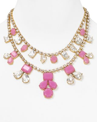 "kate spade new york Secret Garden Statement Necklace, 15""_0"