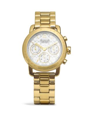COACH Legacy Sport Small Bracelet Gold Watch_0