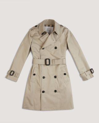 Burberry Boys Mini Quot Britton Quot Trench Coat Sizes 2 6