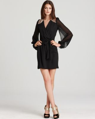 Erin Fetherston Blouson Sleeve Dress