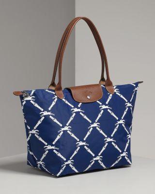 Longchamp nylon tote