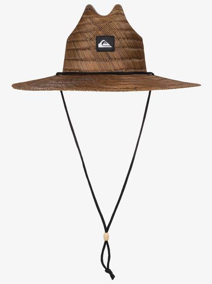 Pierside Straw Lifeguard Hat Aqyha00145 Quiksilver