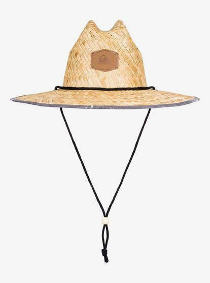 Outsider Straw Lifeguard Hat Aqyha04169 Quiksilver