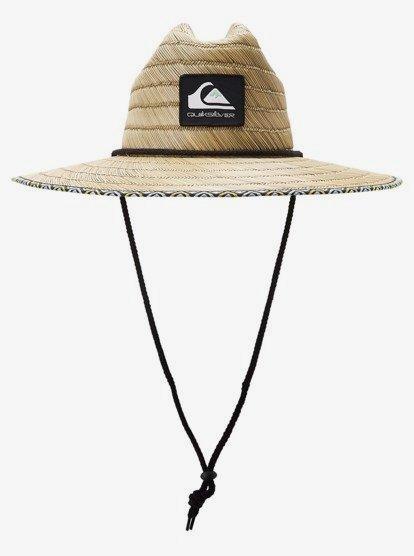 Dredged Straw Lifeguard Hat Aqyha04603 Quiksilver