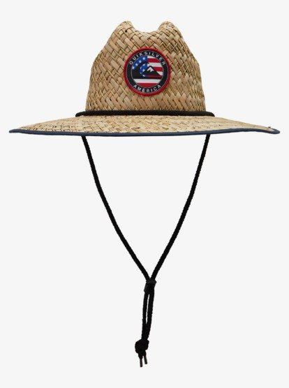 Outsider Americana Straw Lifeguard Hat Aqyha04921 Quiksilver