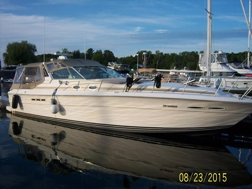 Sea Ray 390 Express 1985 Used Boat For Sale In Orillia
