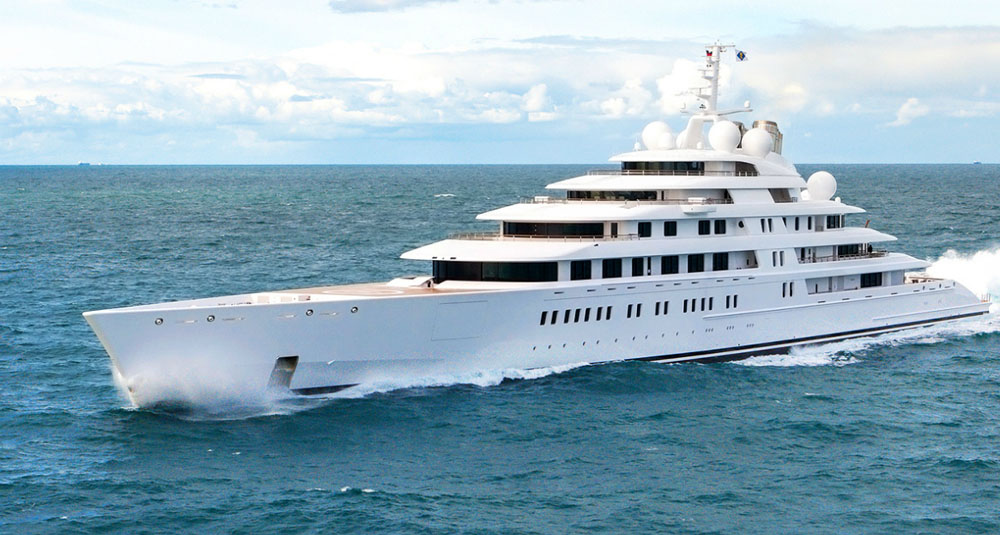 Expensive Yachts Most 10