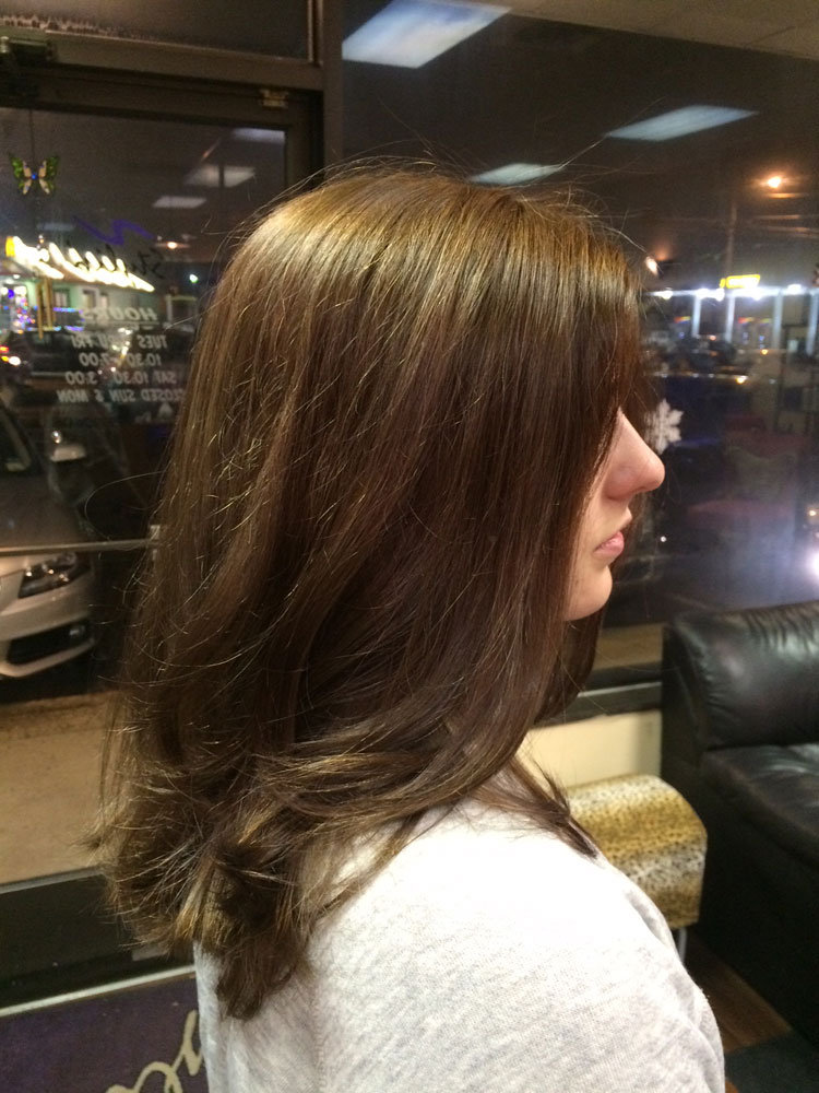 COLOR CORRECTION Back To Normal Career Modern Salon