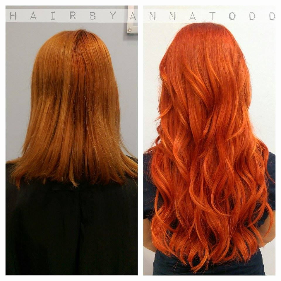 Temperature Color Changing Hair Dye