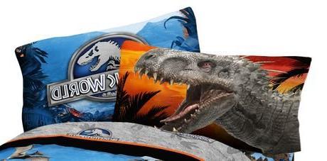 jurassic world reversible pillowcase