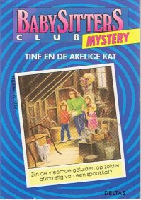 Image result for Babysitters club mystery: Tine en de akelige kat - Ann M. Martin