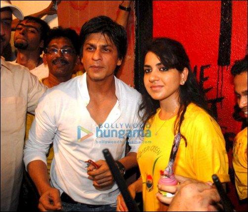 Shahrukh Khan, Shaina NC