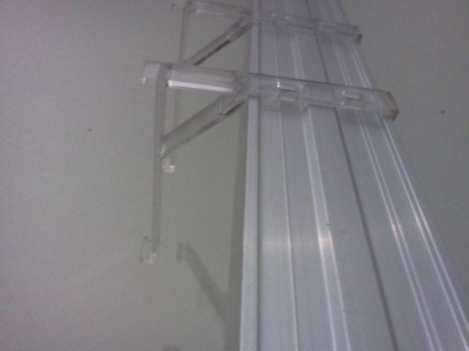 Vertical Blind Bracket Valance Clip Clear And 50 Similar