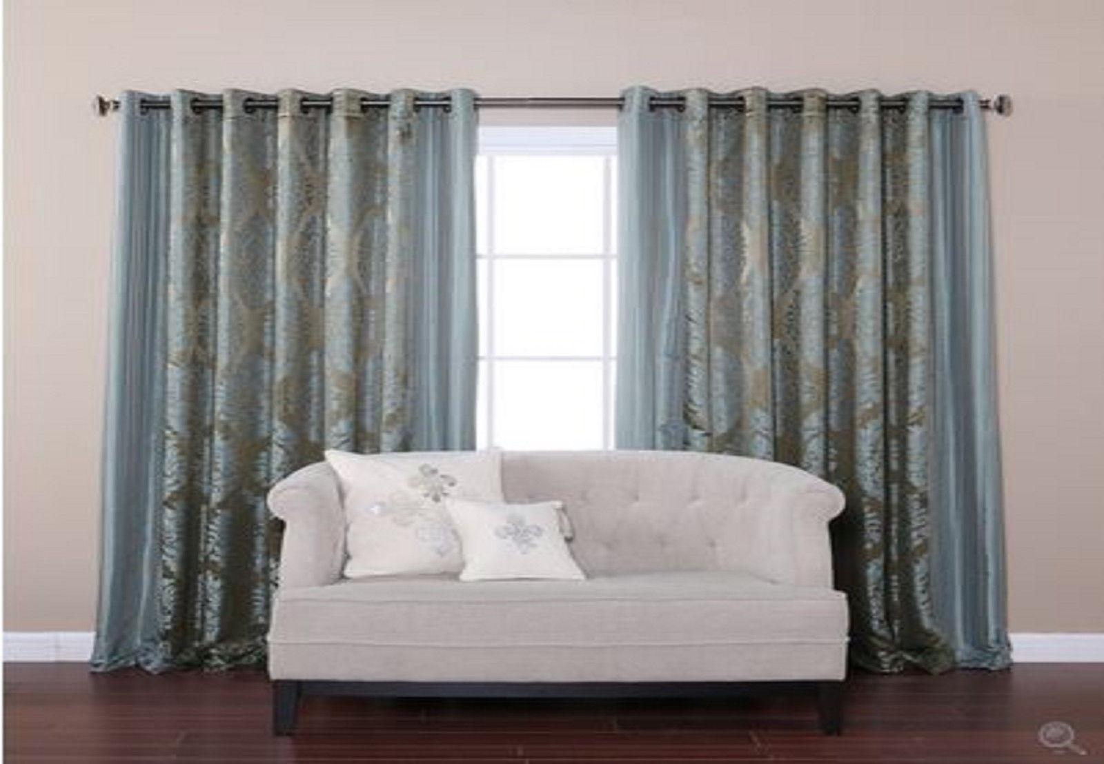 New Wide Width Bedroom Livingroom Grommet Window Treatment