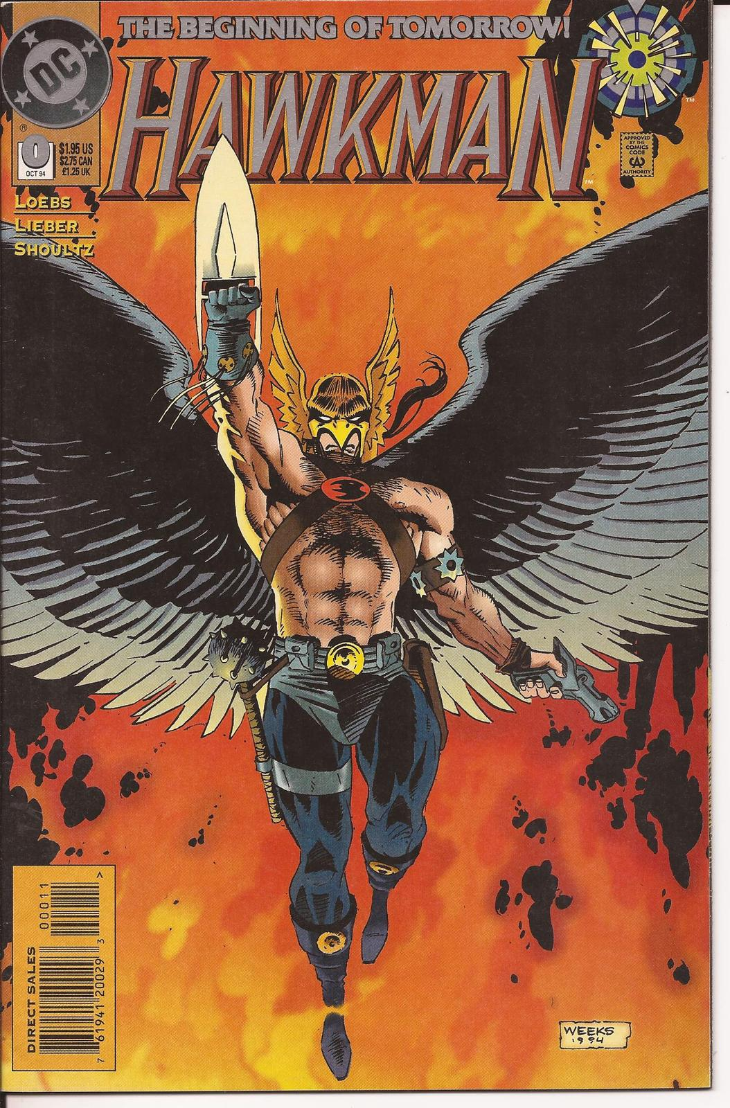 DC Hawkman 0 Eyes Of The Hawk Old Scores Action Adventure