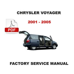 2001  2005 CHRYSLER VOYAGER & GRAND VOYAGER ELECTRICAL