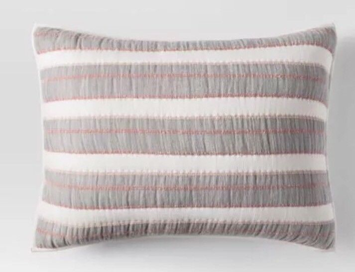 cotton euro square pillow sham quilted