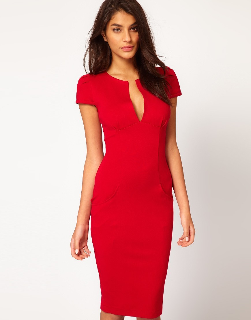 Summer Bodycon Dress Casual Office Dresses