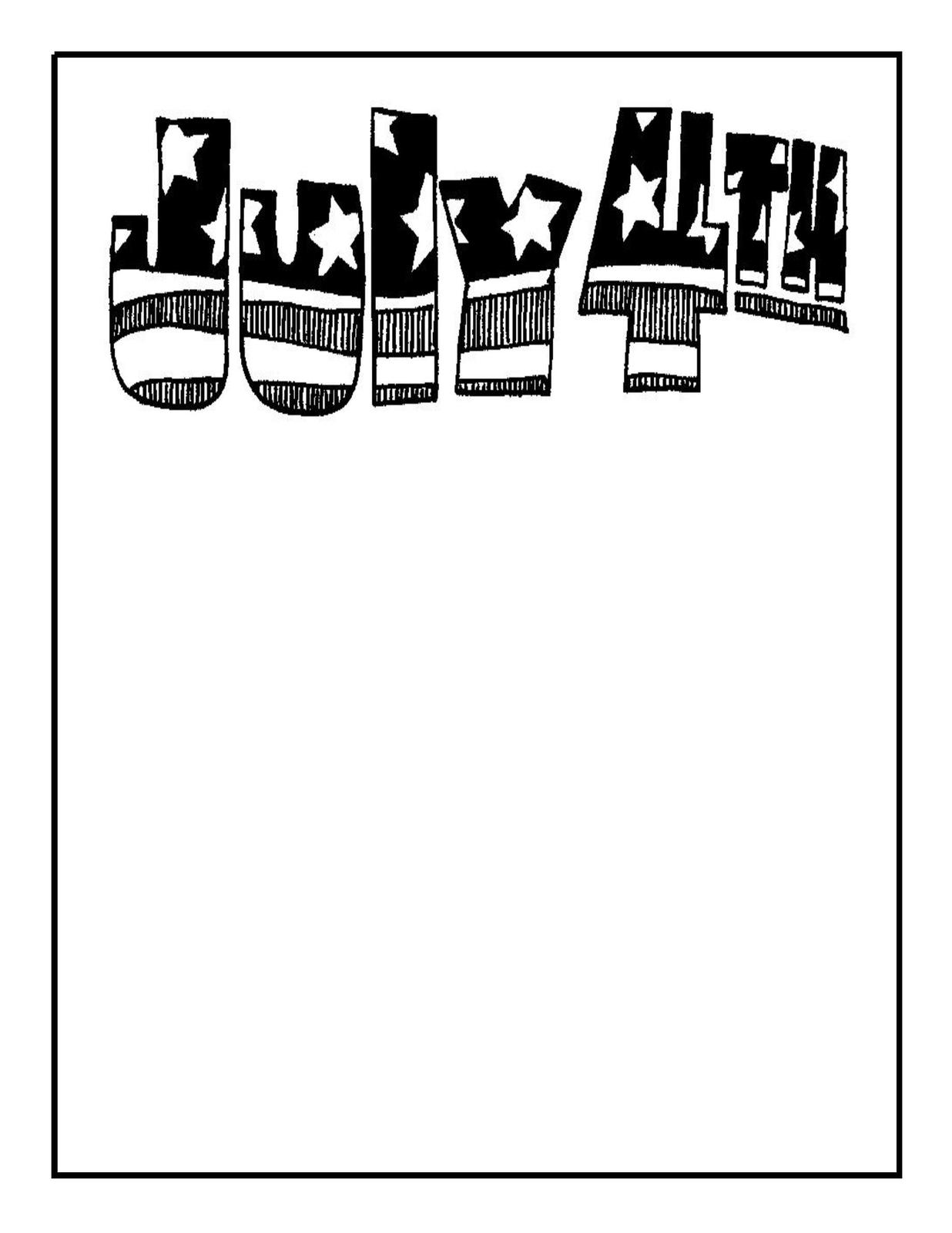 4th Of July 1a Download Clipart Artclip Digital Tags