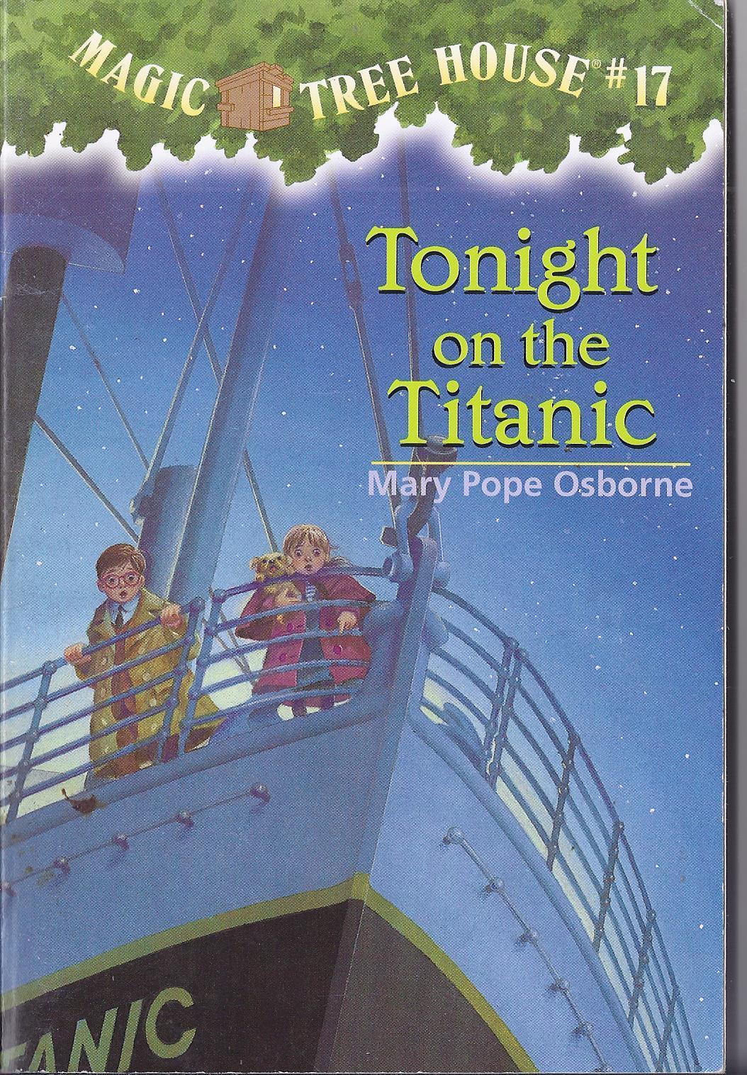 Random House Children S Magic Tree House Tonight On The