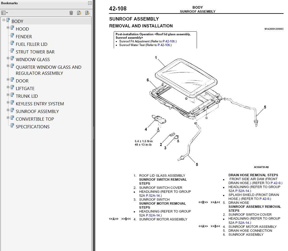 Mitsubishi Eclipse Service Manual