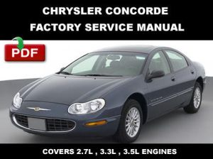 1998  2004 CHRYSLER CONCORDE FACTORY SERVICE REPAIR
