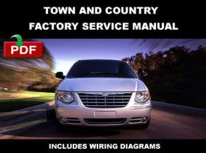 CHRYSLER TOWN AND COUNTRY 2006  2007 SERVICE REPAIR