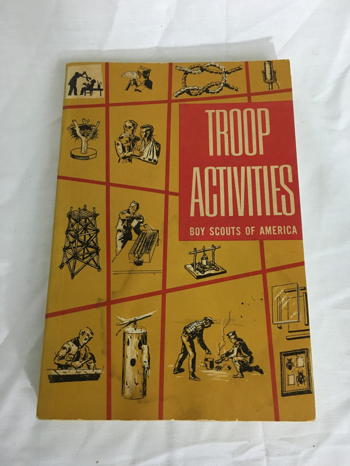 Vintage 60s Troop Activities Book Boy Scouts And Similar Items