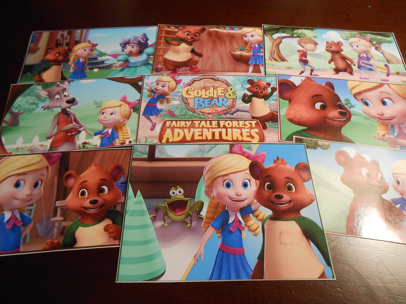 9 Goldie And Bear Stickers Birthday Party And Similar Items