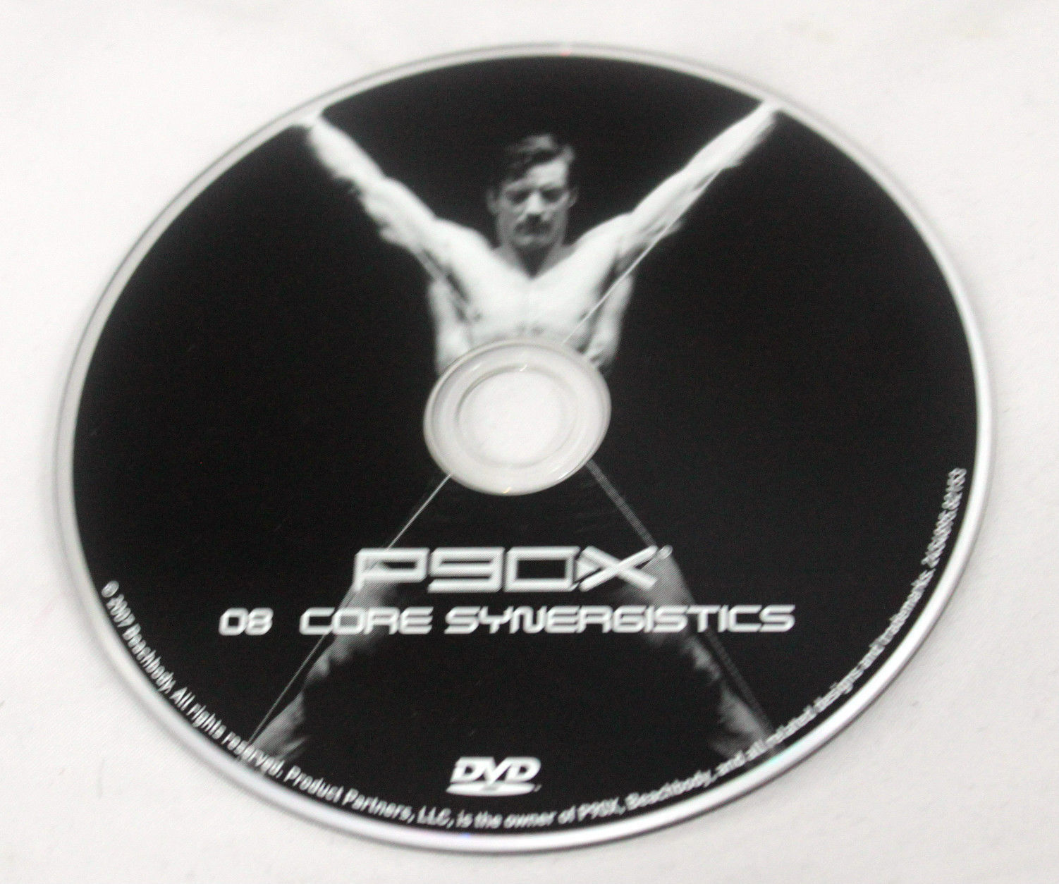 P90x Replacement Dvd Disc 8 Core Synergistics Beachbody