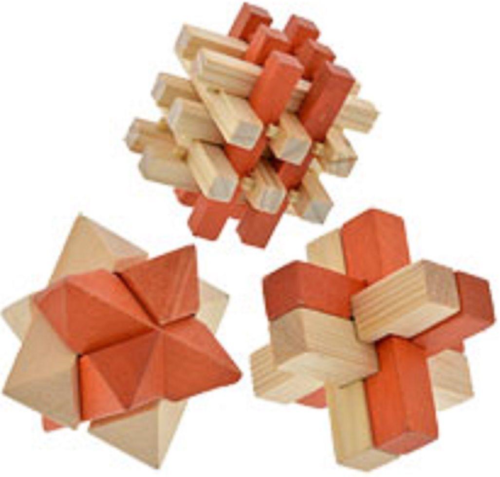 Brain Teaser 3d Wooden Puzzles Select Puzzle