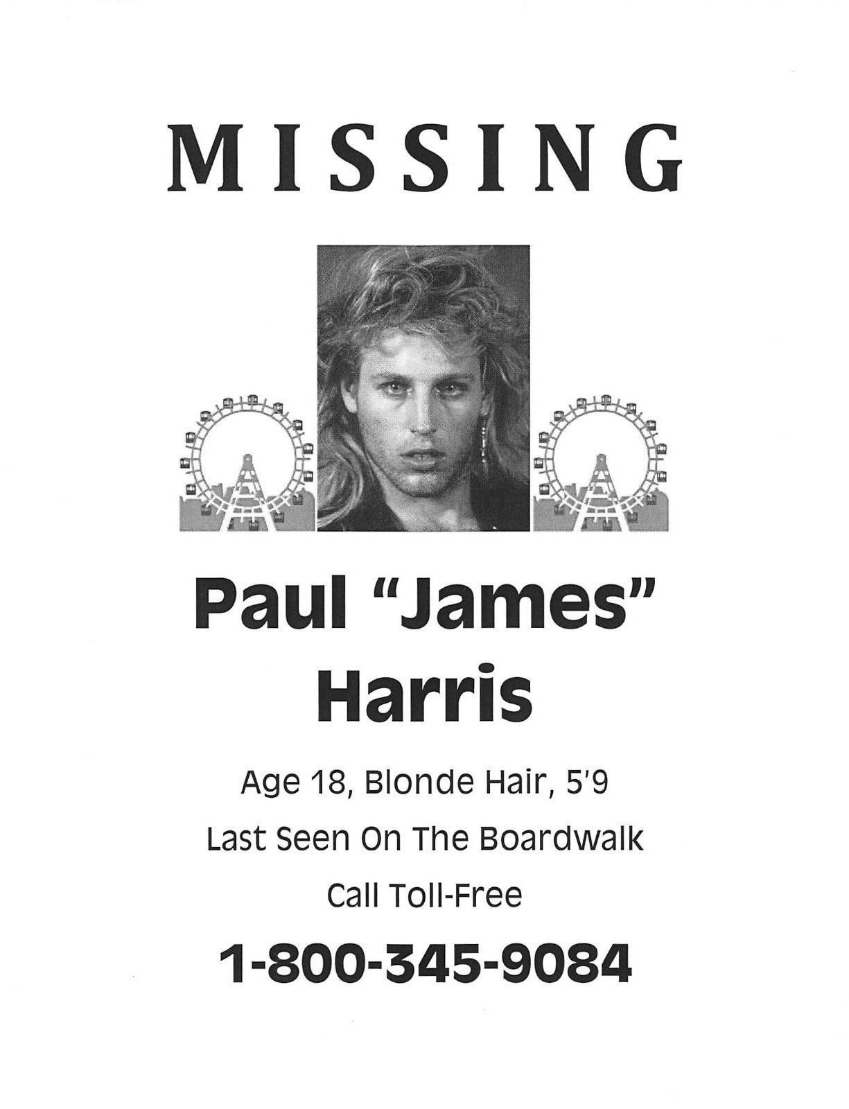The Lost Boys Missing Poster Paul And Similar Items