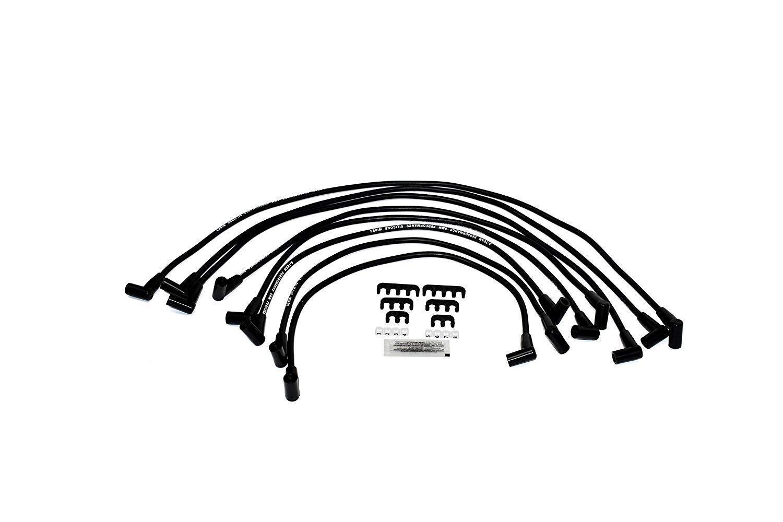 8 0mm Black Silicone High Performance Spark Plug Wire Set