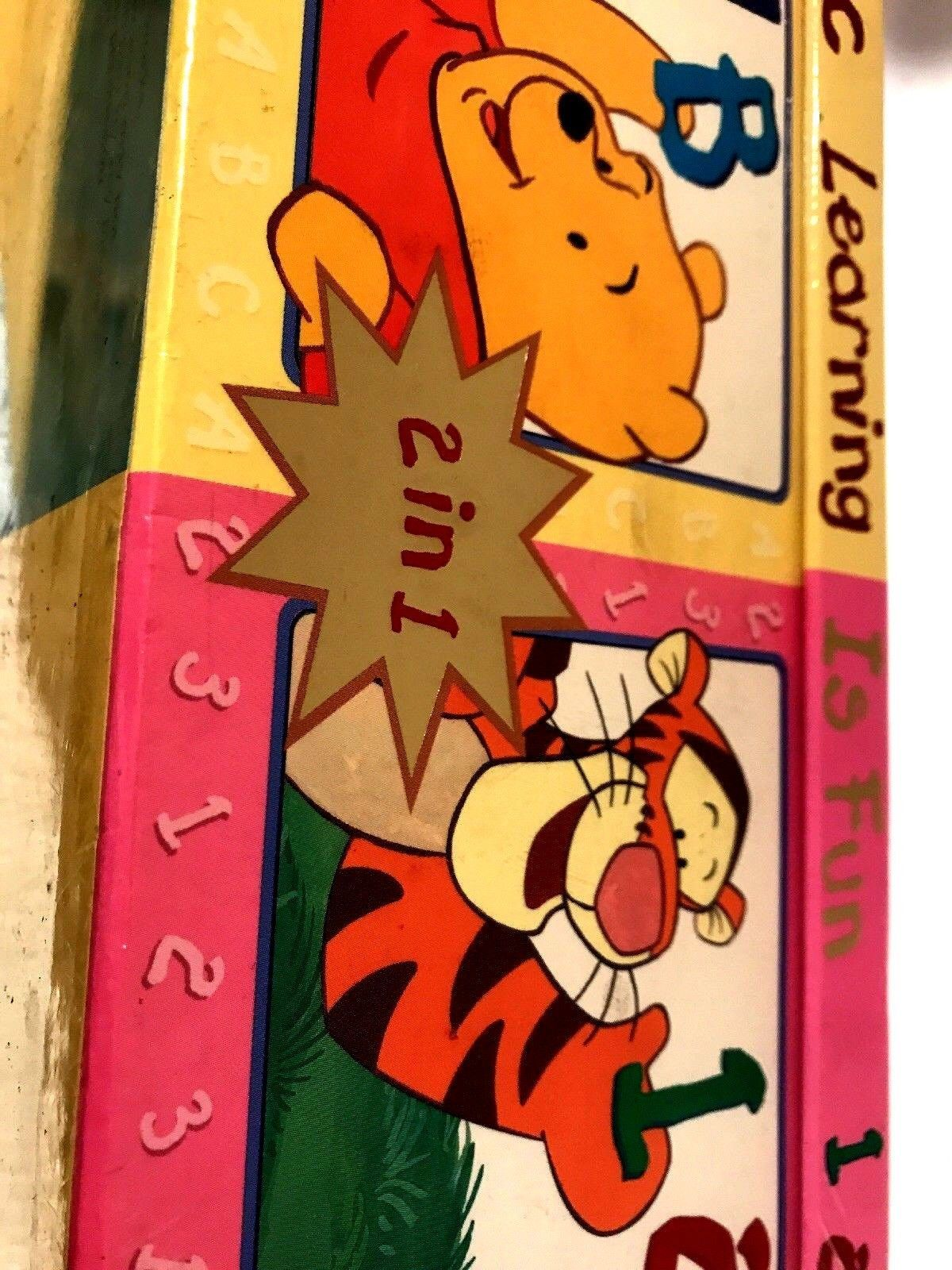 Winnie The Pooh 2 In 1 Alphabet Numbers Educational Boxed